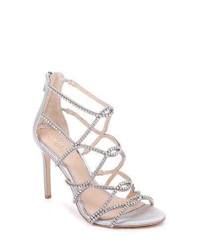 6825c7d8a22 Delancey Strappy Evening Shoe | shoes Mischka Badgley- Rene Caovilla ...