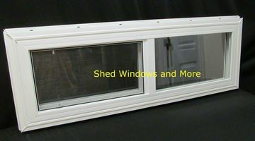 36 X 12 Double Pane Horizontal Sliding Vinyl Window Sliding Vinyl Windows Window Vinyl Shed Windows