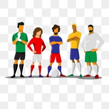 التربية البدنية فريق كرة القدم فريق رياضي كرتون كرة القدم لاعب كرة قدم Png والمتجهات للتحميل مجانا National Sports Day Soccer Banner Football Team