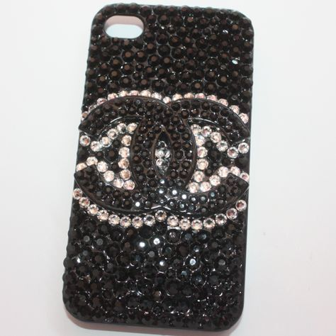 Jetblack Crystals iphone 4/4s | Slave2beauty
