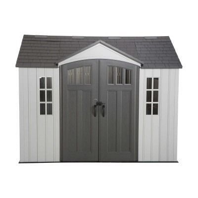 Lifetime 10x8 Single Entrance Plastic Shed New Edition Plastic Sheds Shed Shed Plans
