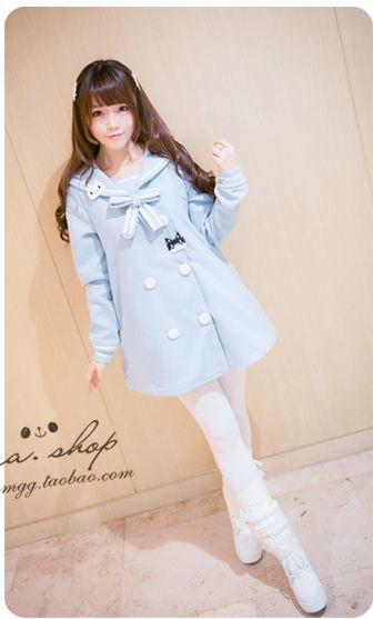 Blue sailor coat 240 yuan