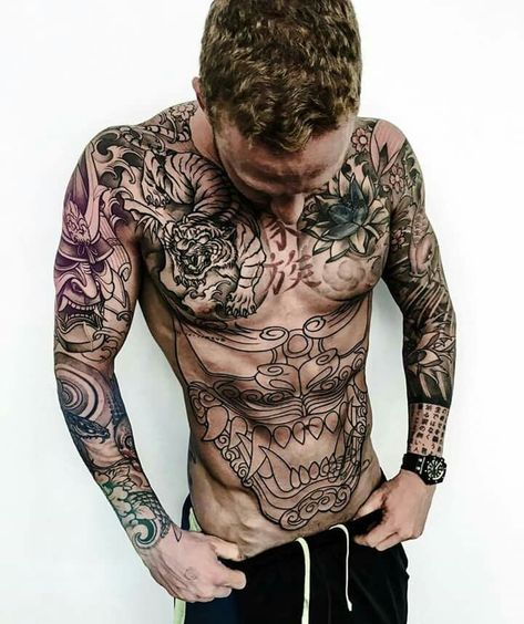 Stomach tattoos for guys – When it has to do with tattoos, the body is similar to a blank canvas, ready to be explored.