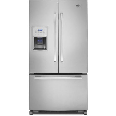 35 Inches Wide Whirlpool Gold Counter Depth French Door Refrigerator