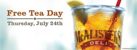 Win a $100 Gift Card from McAlister's Deli - http ...