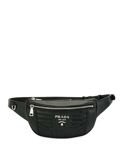 80cc50910a PRADA QUILTED LEATHER BELT BAG. #prada #bags #leather #belt bags ...