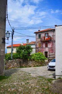 Ecke in Beli, Insel Cres, Kvarner Bucht, Kroatien