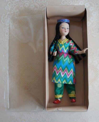 Lalka Porcelanowa Indianka 7305175013 Oficjalne Archiwum Allegro Style Harajuku