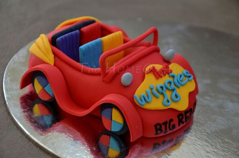 The Wiggles 7 Inch Edible Image Cake /& Cupcake Toppers Birthday Party