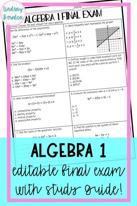 High School Math Assessments