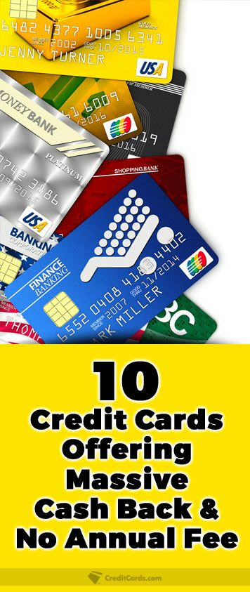 Best Cash Back Credit Cards Of 2020 Top Offers With Images