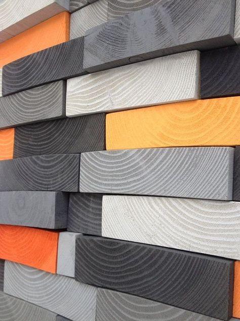 CUSTOM MADE Modern Wooden Wall Art