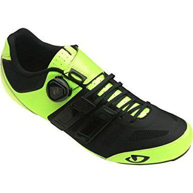 Giro Sentrie Techlace Hi Vis Yellow Black Road Bike Shoe