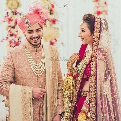 A blush pink sherwani !! #bridal #lehenga #groom #jewellery #safas #sherwani #indian #indianweddings #pink #red #modern