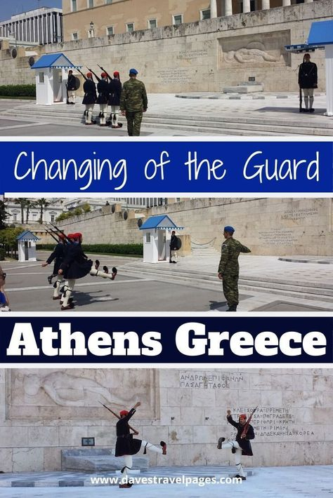 Changing the Guards in Athens Greece – Evzones and Ceremony