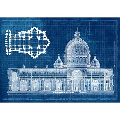 Blueprint designs wallpaper church blue print a2 60x42cm blueprint designs wallpaper church blue print a2 60x42cm orthodox churches pinterest churches church architecture and architecture malvernweather Gallery