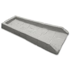 21 1 2 In Poly Grayish Beige Splash Block Splash Blocks Downspout Splash