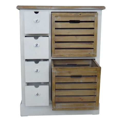 kitchen storage...this could easily go at the end of a bar or island.