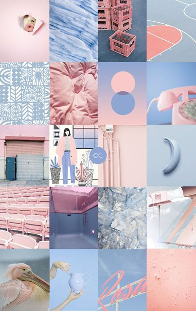 Contemporary Colour - ROSE QUARTZ + SERENITY - Pantone, Colours of the year