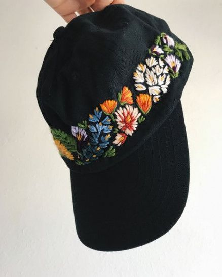 57 Ideas For Hat Design Ideas Sombreros Hat Embroidery Hat Designs Hand Embroidery Patterns
