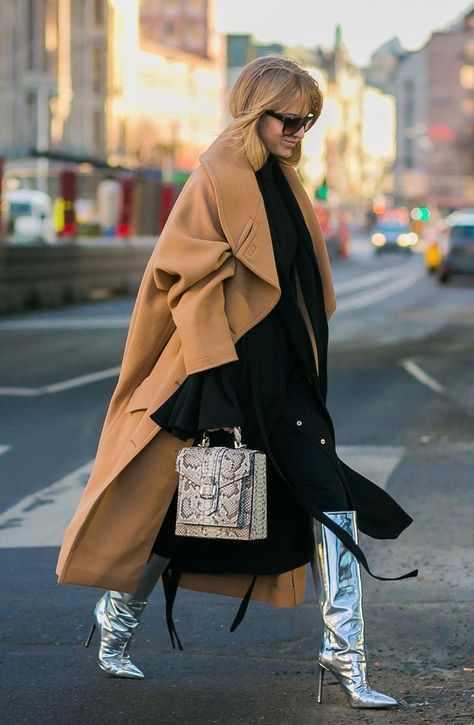 The best street style pics from Stockholm Fashion Week. - April 21 2019 at