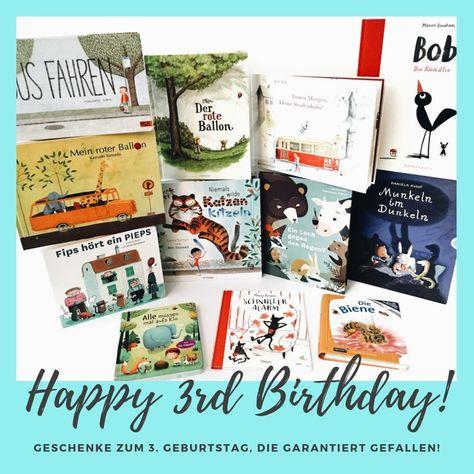 Kinderbuch Tipps Zum 3 Geburtstag Geschenke Die Garantiert