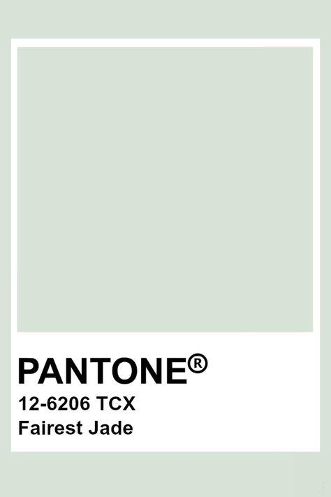 Pantone Fairest Jade