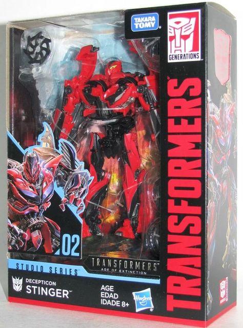 Transformers 2018 Studio Series Deluxe Class #02 Stinger New In Stock Decepticon
