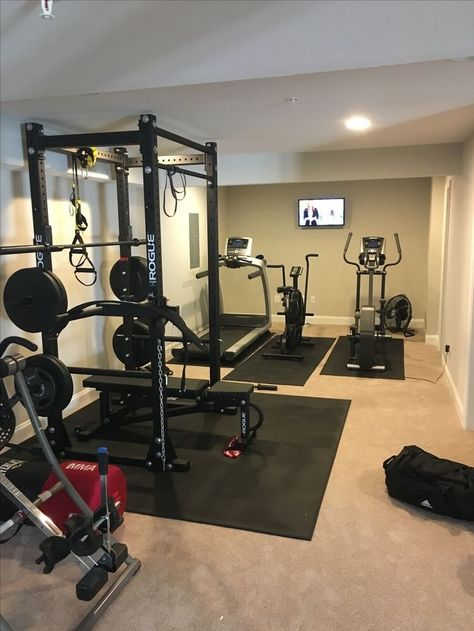 Amazing basement gym