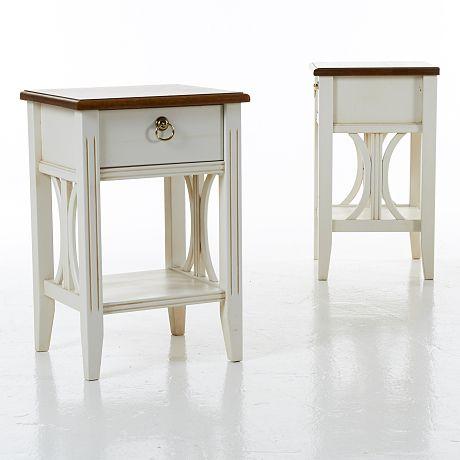 Auktion   Sängbord 1 par 1900 tal   Stockholms Auktionsverk