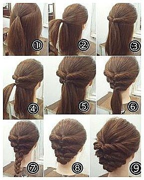 Cool 50 Cool Braids That Are Actually Easy Braids Can Make Different Hairstyles A Lot More I Up Dos For Medium Hair Long Hair Updo Easy Updos For Medium Hair