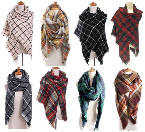How to Tie a Blanket Scarf (Quick Blanket Scarf Tutorial Video)