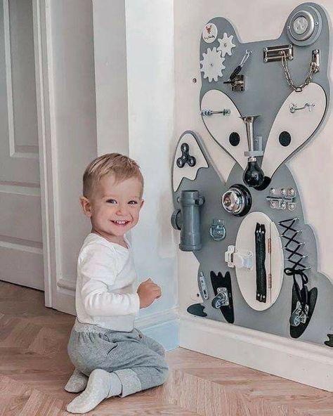 Baby Boy Rooms, Baby Bedroom, Baby Room Decor, Kids Bedroom, Baby Room Design, Baby Sensory Play, Baby Play, Baby Toys, Sensory Toys