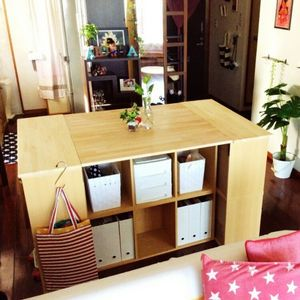 Diy女子 カラーボックスがオシャレ なキッチン収納家具に変身 2 2