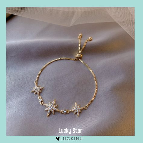 Lucky Star Octagon Bracelet $17.99