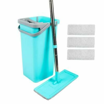Advertisement Magiclux Tech Mop Bucket For Kitchen Floor Cleaning With 4 Washable Microfiber Microfiber Mop Pads Microfiber Mops Clean Kitchen Floor