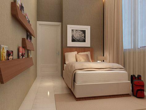 Desain Kamar Tidur Sederhana Ukuran 3x2  kumpulan desain kamar tidur minimalis 4x4 terbaru