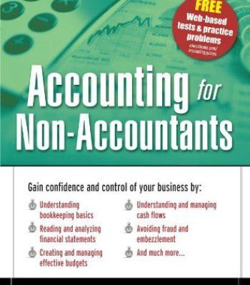Accounting for Non-Accountants, 3E PDF | Books | Learn