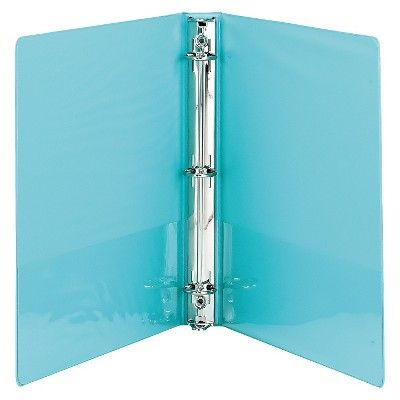Samsill 1 Fashion View 3 Ring Binder 11 X 8 1 2 2ct Turquoise Binder Sizes 3 Ring Binders Binder