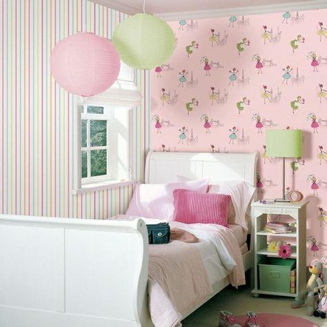 Papel de parede infantil hoopla on pinterest quartos for Papel pared infantil