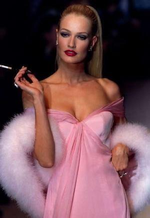 Karen Mulder -  Gianfranco Ferre' for Christian Dior 1995