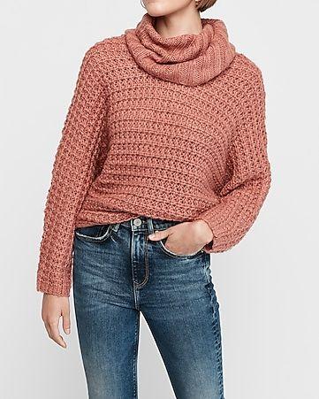 Oversized Cowl Neck Knit Dolman Sweater In 2020 Oversized Cowl Neck Sweater Oversized Cowl Neck Women Sweaters Winter