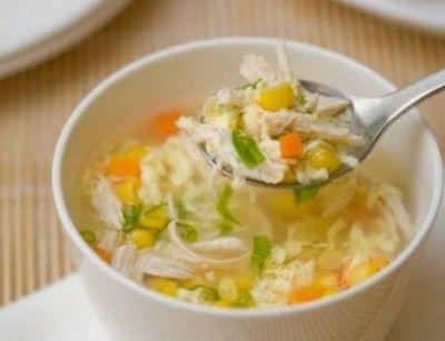 سلسلة أكلات شتوية سهلة 1 شوربة الذرة بالدجاج Zina Blog Chicken Soup Recipes Recipes Soup Recipes