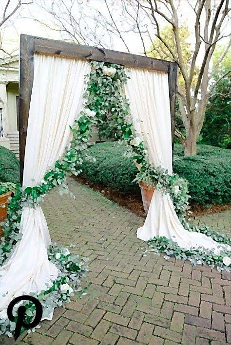 Hochzeits Ideen Blumengirlande Elfenbein Drapieren Hochzeitszeremonie Ideen Blumengirlande D Blumengirlanden Hochzeit Blumen Girlande Blumengirlande