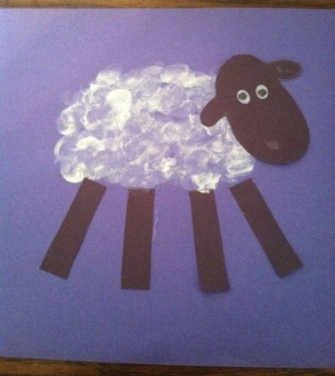 This simple thumbprint craft, based on the parable of the lost sheep found in Luke 15:3-7, will help remind kids that each person is special to God just like the lost sheep in the story. In God's eyes, no one is unworthy or of no value.