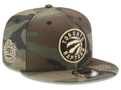 a4d58672767 Toronto Raptors New Era NBA Metallic Woodland 9FIFTY Snapback Cap ...