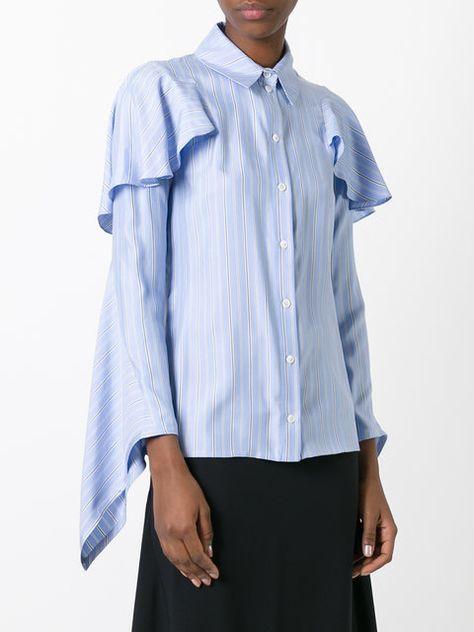 48819c82dd3 J.W.Anderson blusa con diseño en cascada