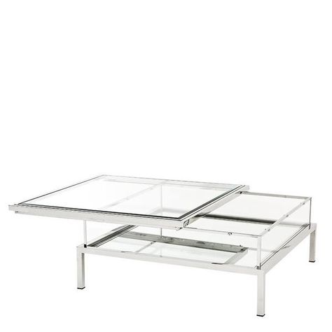 For A Clic And Contemporary Square Sliding Top Coffee Table Online At Oroa Add Style To Your Home With Our Large Selection Of Eichholtz Living