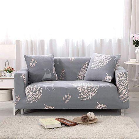Shfolsfh Universal Schonbezuge Abschnitt Elastische Stretch Sofa Abdeckung Fur Wohnzimmer Mobel Couch Cover L Form Single Mobel Sofa Wohnzimmer Sofa Sofahussen