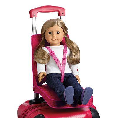 American Girl Doll Room, American Girl Car Seat